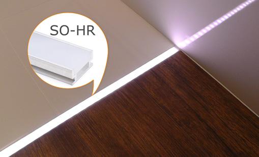 Oświetlenie Led W Fugach W łazience Profil Wodoodporny