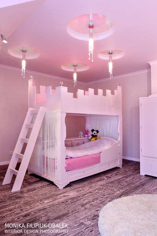 Pokój dziecięcy dla dziewczynki w różu