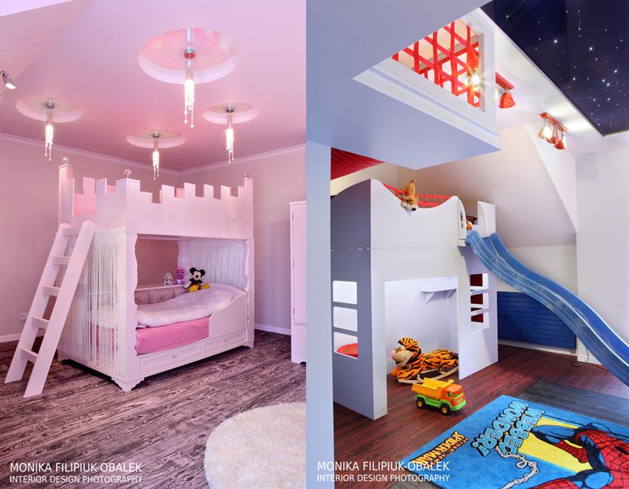 pokój dziecka dla chłopca i dziewczynki