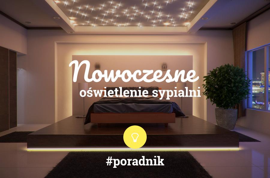 nowoczesne oświetlenie sypialni