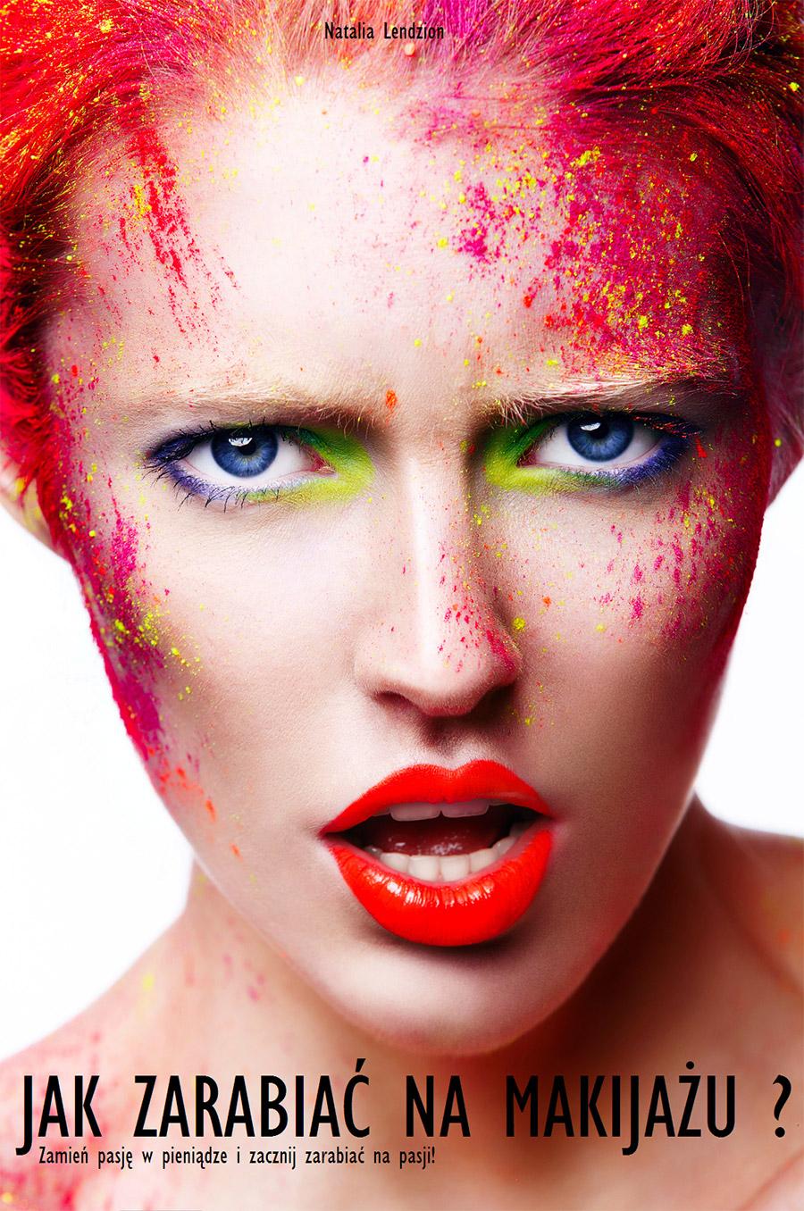 okładka książki jak zarabiać na makijażu