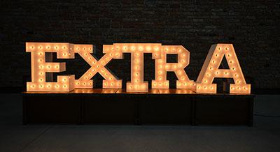 Dowiedz się więcej o literach LED retro