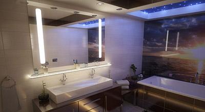 Dowiedz się więcej o lustrze LED do łazienki