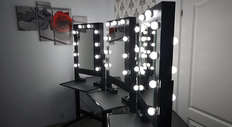 Dowiedz się więcej o stanowiskach do makijażu