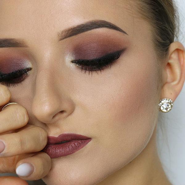 Ruda Maluje - makijaż