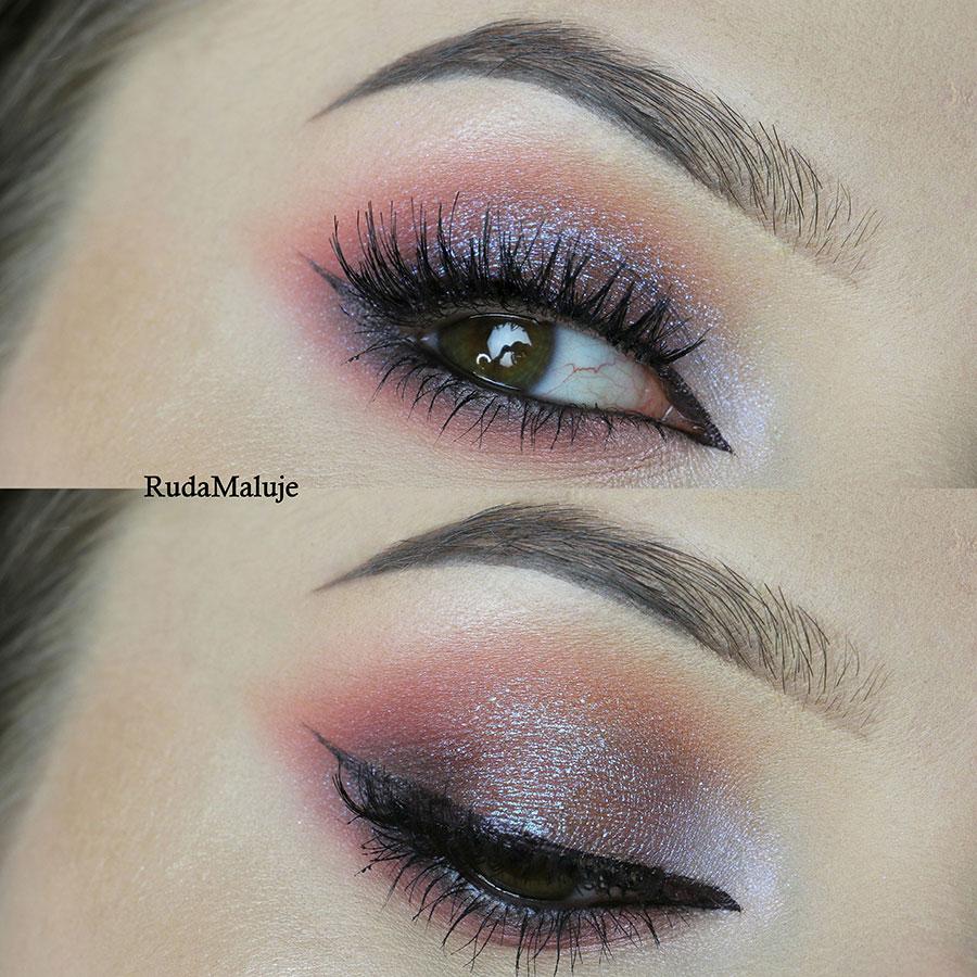 Makijaż oka wykonany przez Ruda Maluje