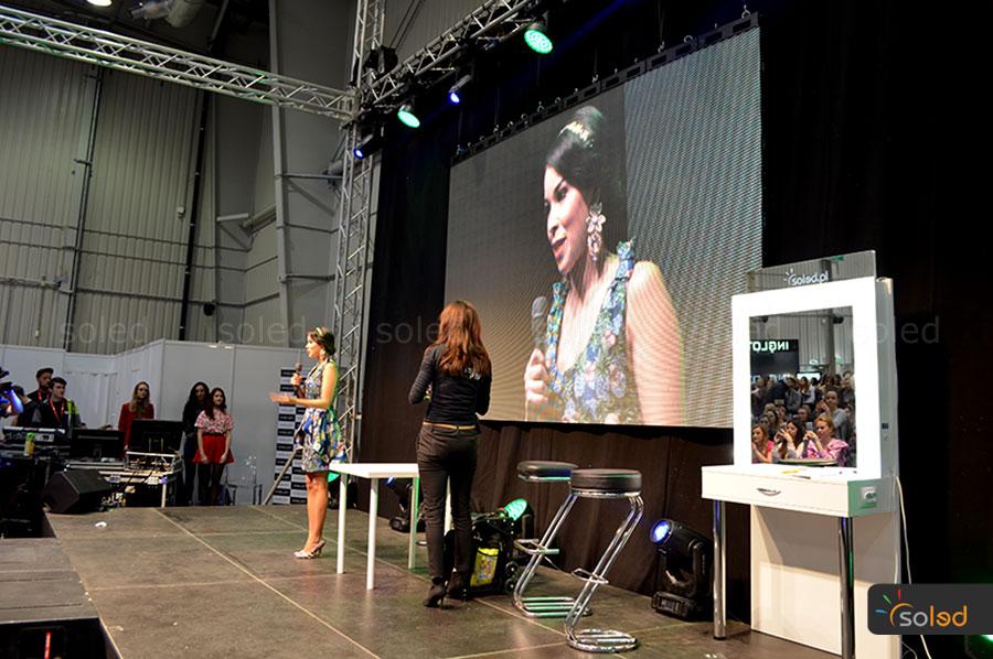 Stanowisko makijażowe na scenie The Makeup Day Poland 2017