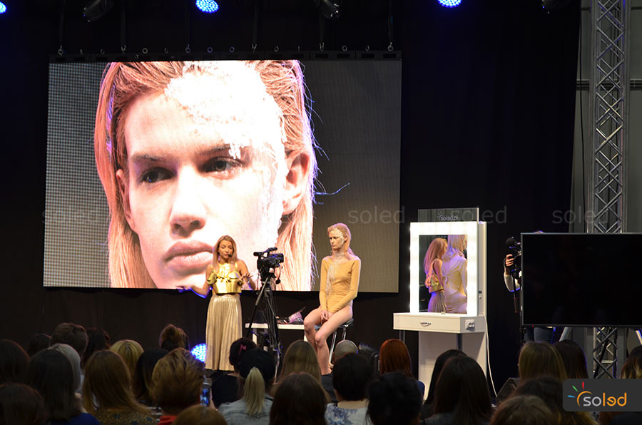 Scena na The Makeup Day Poland 2017