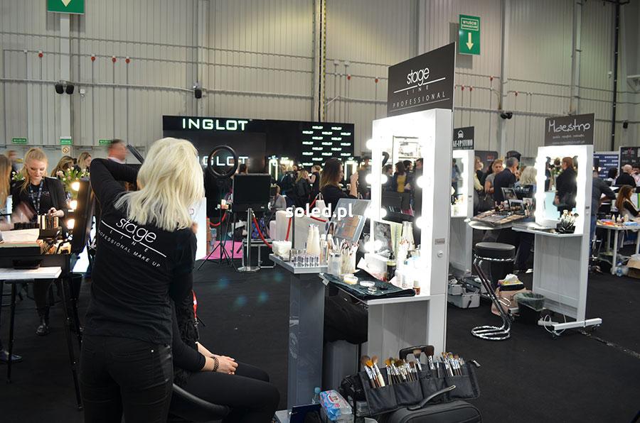 Beauty Make Up Mirror - mobilne stanowisko dla wizażysty na targach wizażu