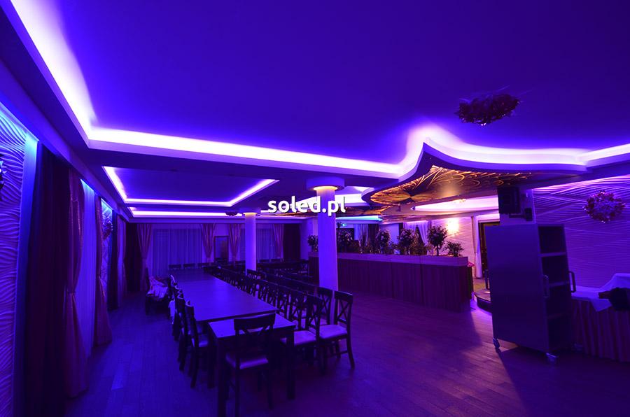 Zestaw oświetlenia wnęk RGB produkcji SOLED