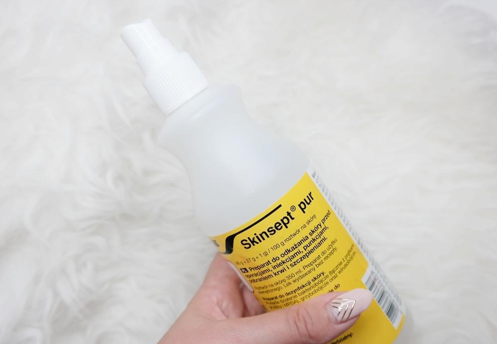 Preparat do dezynfekcjiskory skinsept